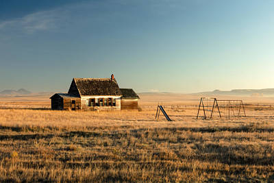 Great Plains Photograph - A Long, Long Time Ago by Todd Klassy