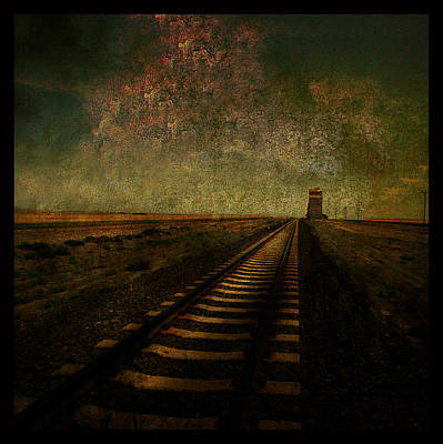 Abstract Realism Digital Art - A Long Way Home by Jeff Burgess
