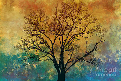A Magnificent Tree Print by Bedros Awak