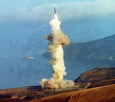 1980s Photograph - A Minuteman IIi Intercontinental by Everett