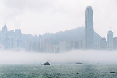 A Misty View Original by Kam Chuen Dung