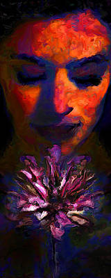 Rhythm And Blues Digital Art - ...a Moment For Grace by Lee Haxton