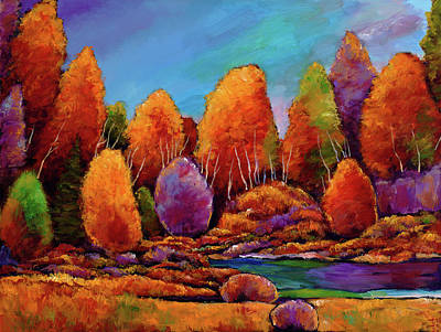 Sagebrush Painting - A Moments Embrace by Johnathan Harris