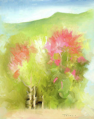 Landscape Painting - A Mood Of Good by Catherine Twomey