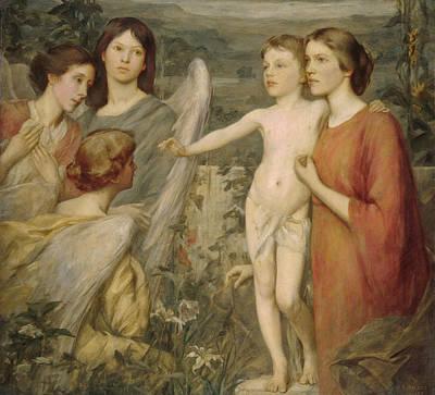 Henry Oliver Walker Painting - A Morning Vision by Henry Oliver Walker
