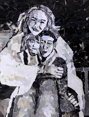 Mosaic Mixed Media - A Mother's Love by Shana Rowe Jackson