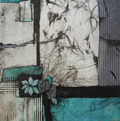 Paper Mixed Media - A Natural Cause And Effect  by Laura Lein-Svencner