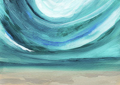 A New Start Wide- Art By Linda Woods Print by Linda Woods