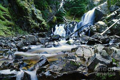 A New Way To The Waterfall  Print by Jeff Swan