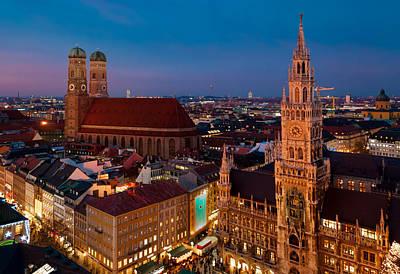 A Night In Munich Original by Neptune's Aperture