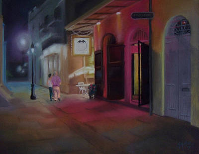 A Night On The Town Print by Marcus Moller