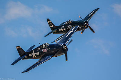 Photograph - A Pair Of Grumman Cats by Tommy Anderson