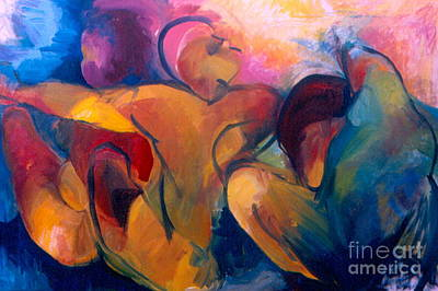 Spiritual Painting - A Passion To Be Raised by Daun Soden-Greene