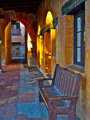 Window Bench Photograph - A Peaceful Resting Place by Karon Melillo DeVega