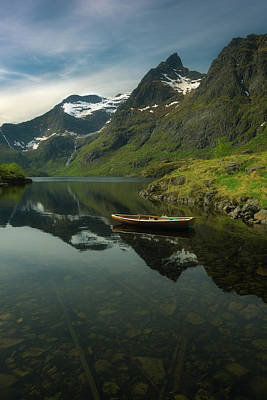 A Piece Of Peace Print by Tor-Ivar Naess