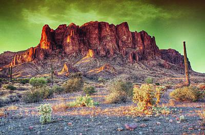 Digital Art - A Piece Of The West by Dan Stone