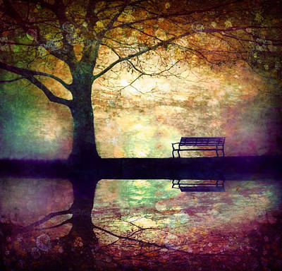 A Place To Rest In The Dark Print by Tara Turner