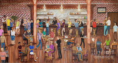 Social Issues Painting - A Place Where We Can Be Ourselves by Charmayne Danton