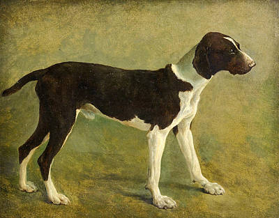 Jacques Laurent Agasse Painting - A Pointer by Jacques-Laurent Agasse