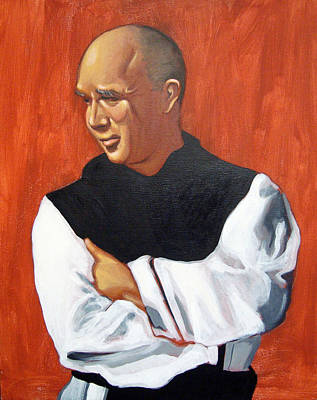 Painting - A Portrait Of Thomas Merton by Joseph Malham