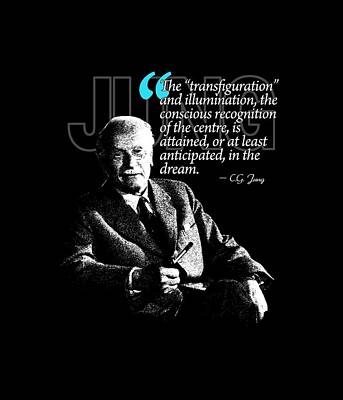 A Quote From Carl Gustav Jung Quote #18 Of 50 Available Print by Garaga Designs