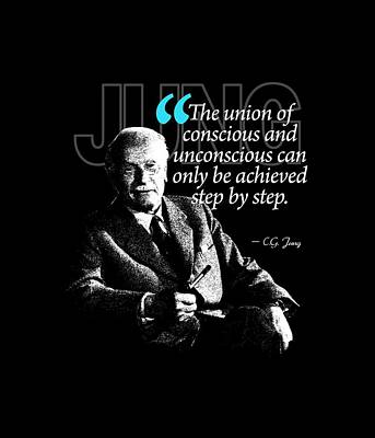 A Quote From Carl Gustav Jung Quote #2 Of 50 Available Print by Garaga Designs