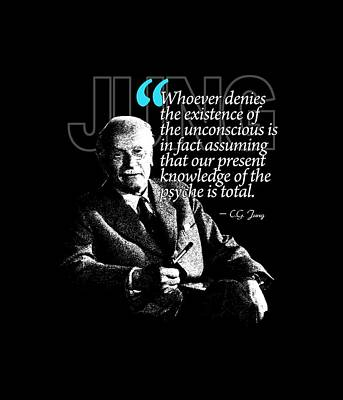 A Quote From Carl Gustav Jung Quote #23 Of 50 Available Print by Garaga Designs