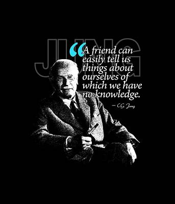 A Quote From Carl Gustav Jung Quote #26 Of 50 Available Print by Garaga Designs