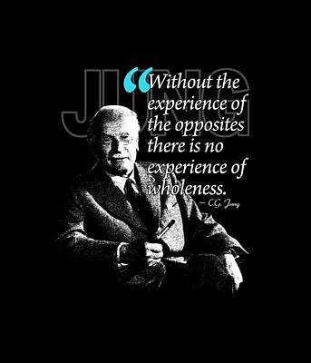 A Quote From Carl Gustav Jung Quote #27 Of 50 Available Print by Garaga Designs