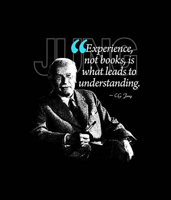 A Quote From Carl Gustav Jung Quote #28 Of 50 Available Print by Garaga Designs