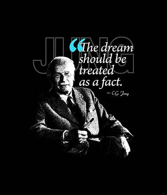 A Quote From Carl Gustav Jung Quote #29 Of 50 Available Print by Garaga Designs