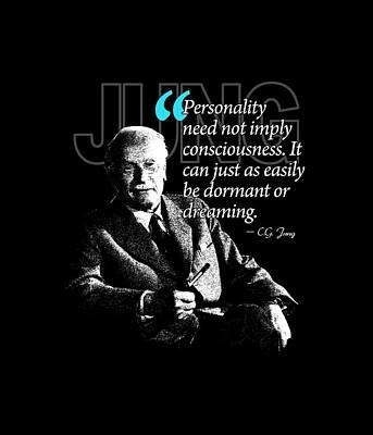 A Quote From Carl Gustav Jung Quote #37 Of 50 Available Print by Garaga Designs