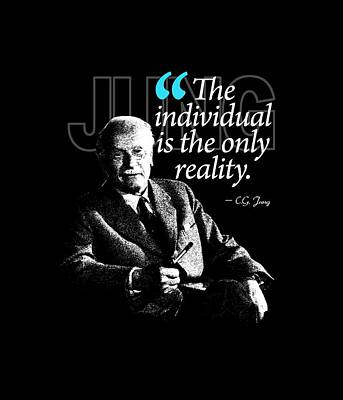 A Quote From Carl Gustav Jung Quote #5 Of 50 Available Print by Garaga Designs