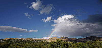 Universities Photograph - A Rainbow In Salt Lake City by Rona Black