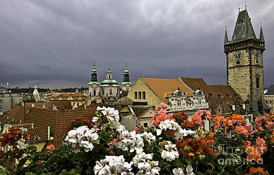 Rainy Day Photograph - A Rainy Day In Prague by Madeline Ellis