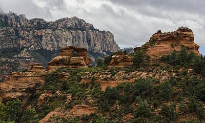 Rainy Day Photograph - A Rainy Day In The Red Rocks  by Saija Lehtonen