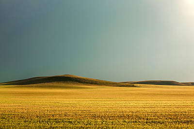 A Rise On The Plains Print by Todd Klassy