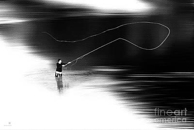 A River Runs Through It Print by Hannes Cmarits