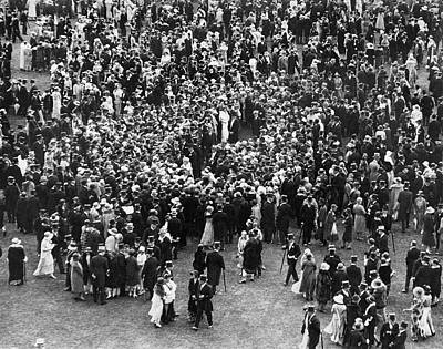 Buckingham Palace Photograph - A Royal Party by Underwood Archives