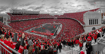 Ohio Photograph - A Sea Of Scarlet by Kenneth Krolikowski