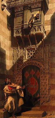 Serenade Painting - A Serenade In Cairo by Carl Haag