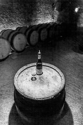 A Sip In The Cellar Print by W Chris Fooshee