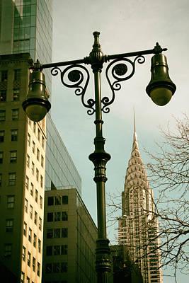 Chrysler Building Digital Art - A Slice Of New York by Jessica Jenney
