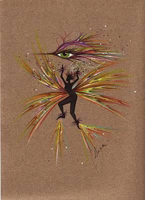 A Snit.... Print by Dawn Fairies