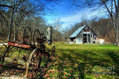 Southern Indiana Photograph - A Spring Time Story by Mel Steinhauer