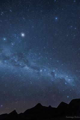 A Starry Night Print by Santiago Rolon