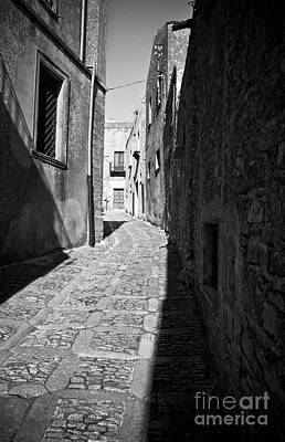 A Street In Sicily Print by Madeline Ellis