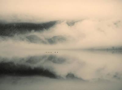 A Study Of Clouds Print by Tara Turner