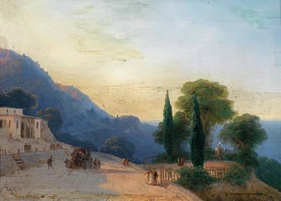 Painting - A Summer's Day In Crimea by Ivan Konstantinovich Aivazovsky