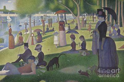 A Sunday On La Grande Jatte Print by Georges Pierre Seurat